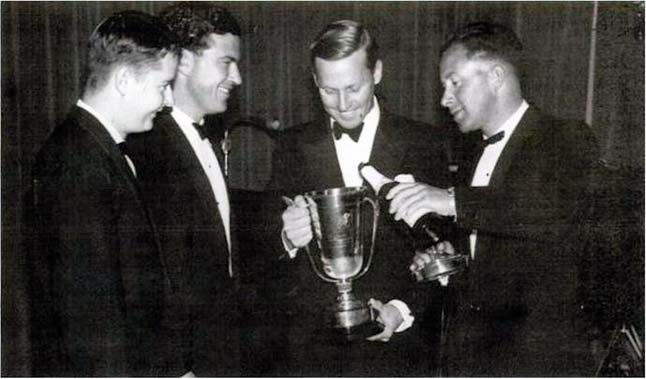 Toasting the Nuffield Cup